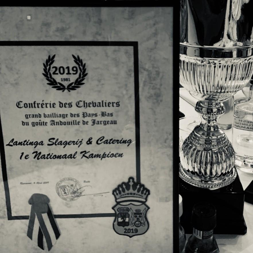 Slagerij Lantinga (Butchery) Nederlands Kampioen!