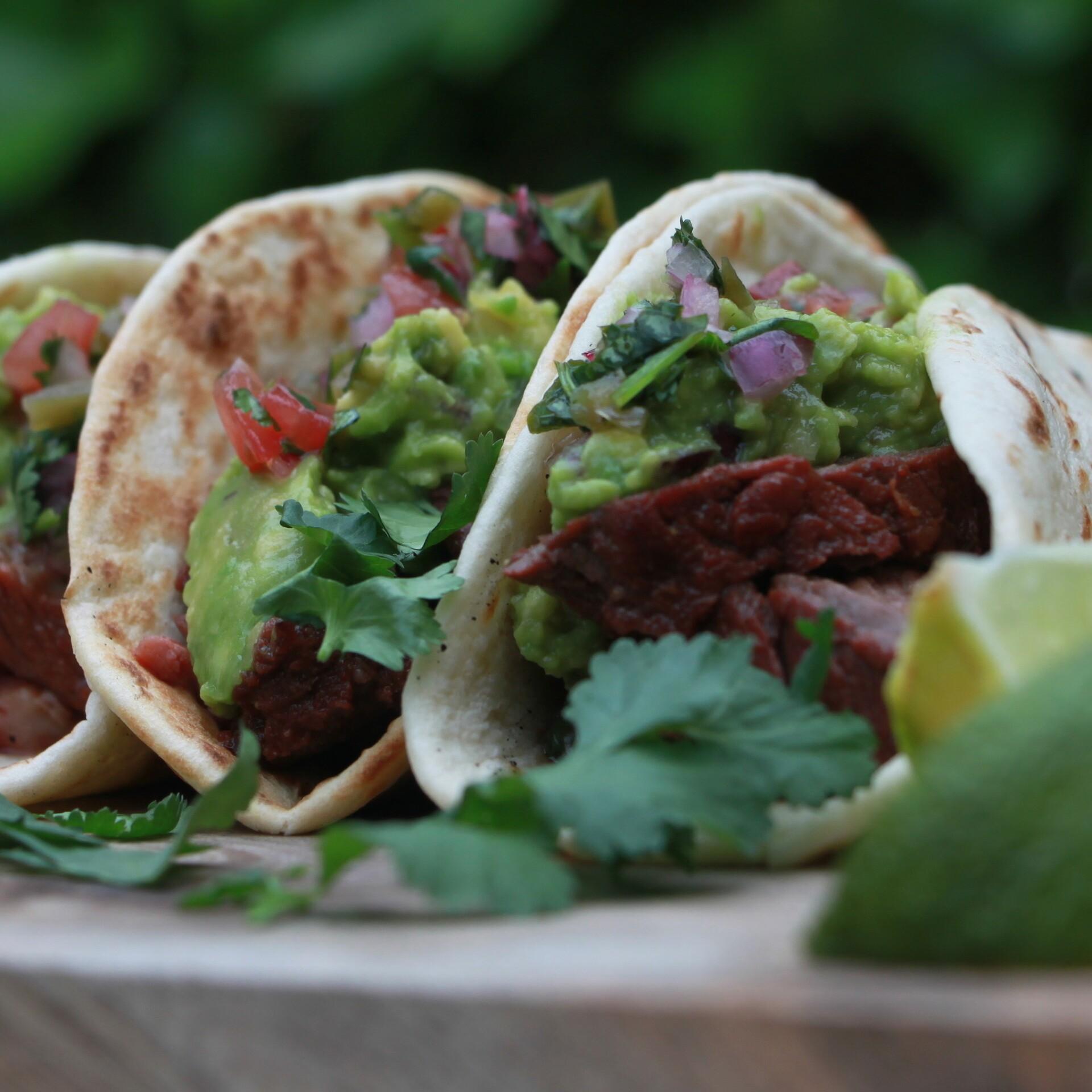 Taco's Carne Asada naar recept van BBQ Junkie