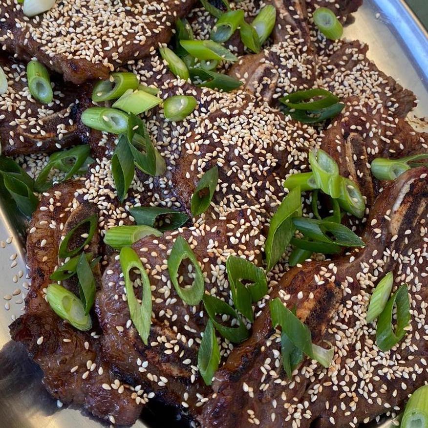 Korean Style Kalbi short ribs
