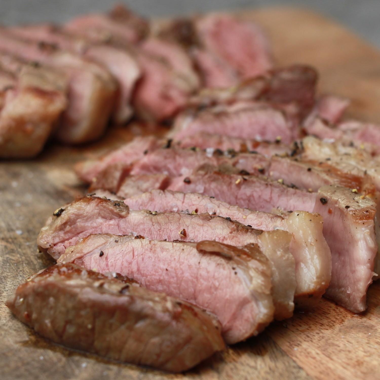 Lamstournedos van de BBQ (Agnei Iberico lam)
